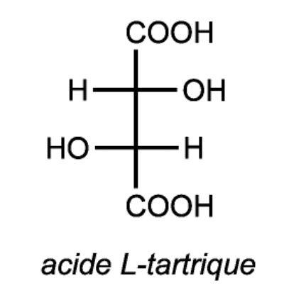 Acide tartrique vin